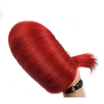 Vvwig Red Hair Straight Bundles Human Hair Weave Virgin Hair 1 Bundle Soft And Easy To Style