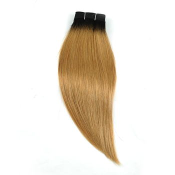 Vvwig 1B 27 Ombre Hair Straight Bundles Extensions Virgin Human Hair 1 Bundle No Smell Or Shedding