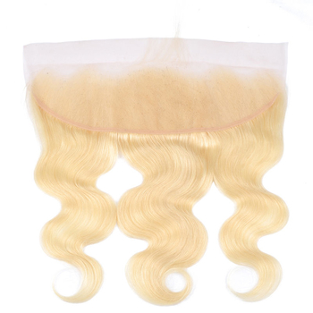 Vvwig Premium 613 Body Wave Hair Indian Human Hair 4 Bundles With Frontal 13*4 Inch Lace No Smell Or Shedding