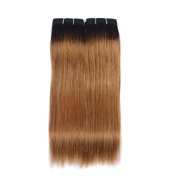 Vvwig 1B 30 Ombre Color Soft Smooth Straight Bundles Virgin Hair Extensions 100% Human Hair 2 Bundles