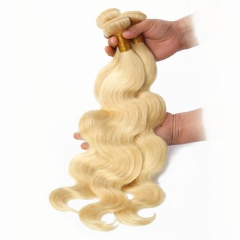 Vvwig Unprocessed Hair 613 Body Wave Hair Smooth Touch Breathable Human Hair 3 Bundles With Closure